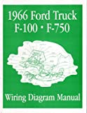 1966 FORD F-100 F-150 to F-750 TRUCK Wiring Diagrams