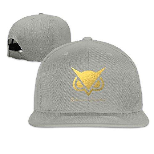 beetful-vanoss-gaming-oro-buho-plain-ajustable-gorra-sombreros-caps