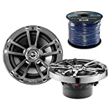 2X Infinity Reference 622m 6.5-Inch 225-Watt High-Performance 2-Way Weather-Proof Marine Boat Power Sport Vehicles 2-Way Coaxial Speakers