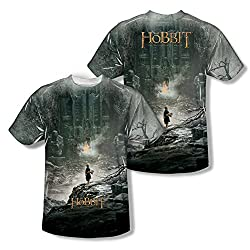 The Hobbit Desolation Of Smaug Big Poster All Over Print Front / Back T-Shirt