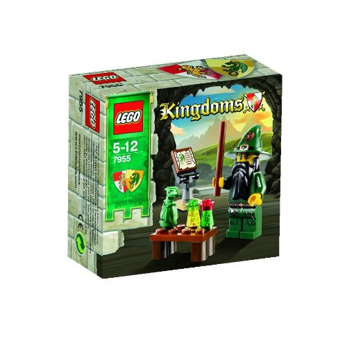 LEGO Kingdoms Mini Figure Set #7955 Wizard Amazon.com