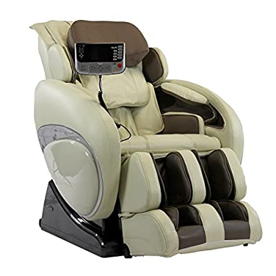 Osaki Os-4000 a Zero Gravity Deluxe Massage Chair, New Foot Roller, S-track Movable Intelligent Massage Robot , 6 Massage Styles (Cream)