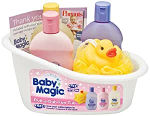 buy baby magic rub a dub fun tub gift set online at low prices in india. Black Bedroom Furniture Sets. Home Design Ideas