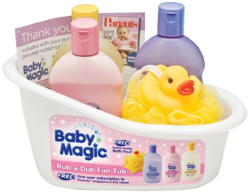 Baby Magic Rub-a-Dub Fun Tub Gift Set - 1