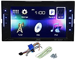 See JVC KW-V11 Double Din Car DVD/iPhone/Pandora Radio Player Receiver 6.2