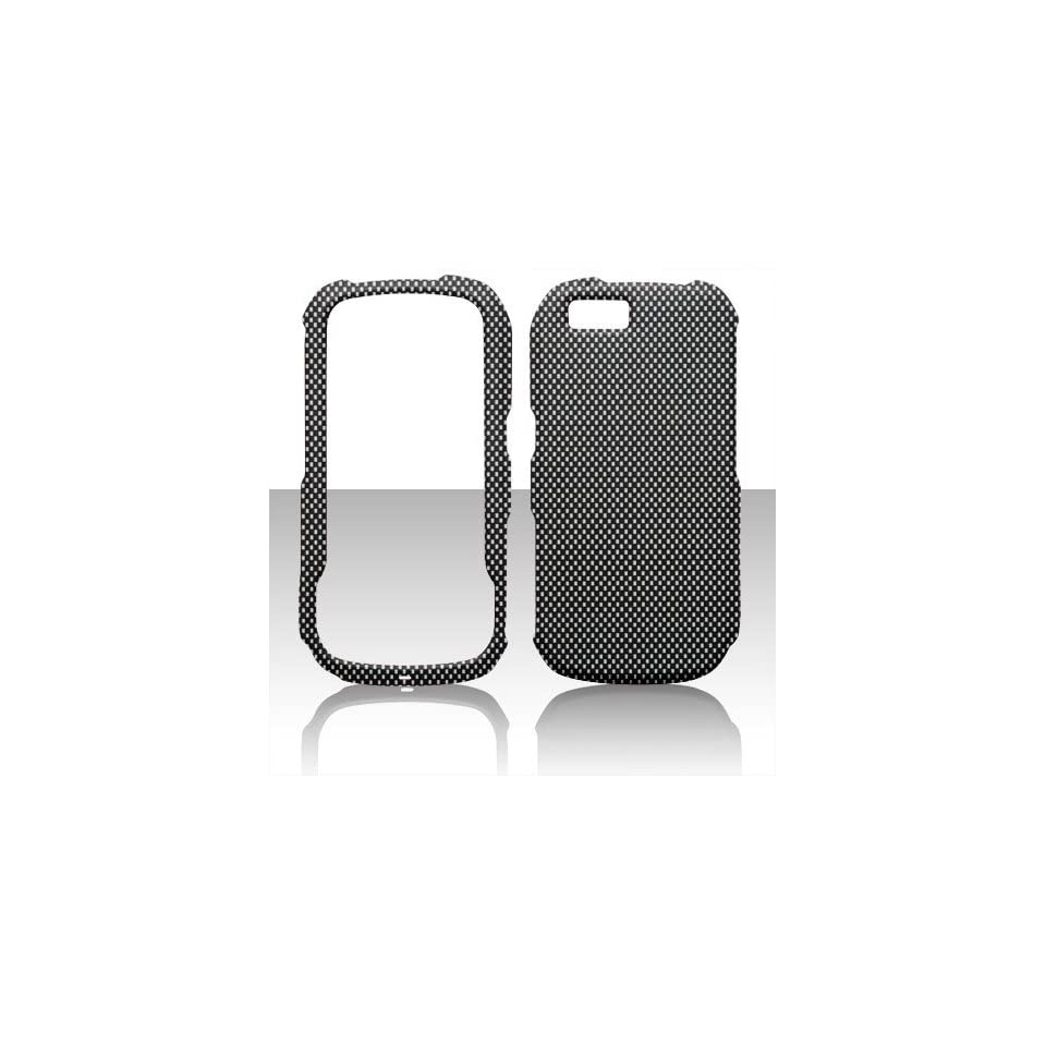 MOTOROLA I1 OPUS CHECKERED BLACK AND WHITE HARD CASE PROTECTOR FACEPLATE COVER