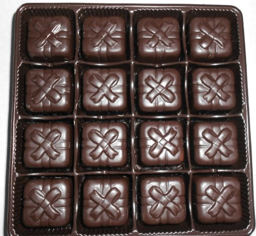 Dark Chocolate Covered Marzipan 32 pcs