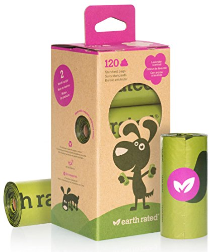 Earth rated 120 count lavender scented dog waste bags 8 for Earth rated dog bags
