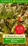 King Solomon's Mines (Worlds Classics) (0192822047) by Haggard, H. Rider