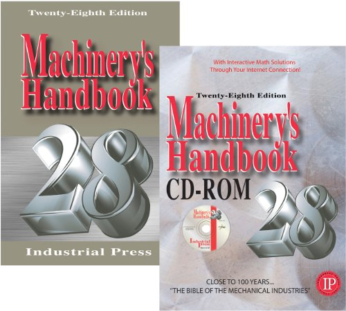 Machinery's Handbook Large Print & CD Combo