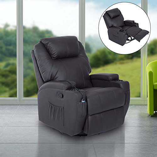 Acehter fauteuil canap sofa relaxation massant chauffant - Fauteuil relax massant chauffant ...