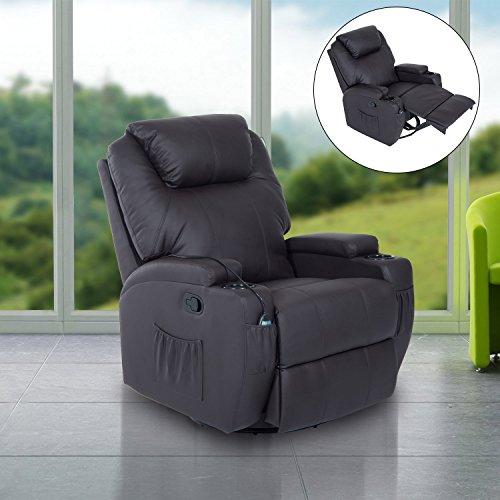 Fauteuil-canap-sofa-relaxation-massant-chauffant-et-vibrant-inclinable-pivotant--360tlcommande-2-porte-gobelets-similicuir-92L-x-84l-x-109Hcm-brun-neuf-29