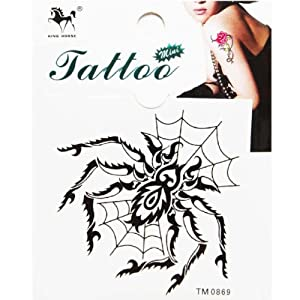 Amazon.com: GGSELL King Horse Temporary tattoo sticker black insects