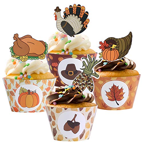 Buy Thanksgiving Cupcakes Now!