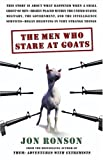 The Men Who Stare at Goats (0743241924) by Jon Ronson