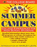 Summer on Campus: College Experiences for High School Students