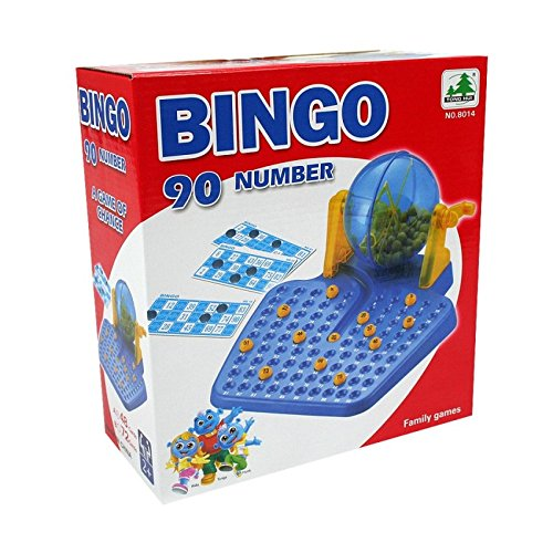 Family games BINGO Lotto 90 numbers 72 playing cards for age 6 years old up