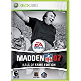 Madden NFL 07 Hall of Fame Edition