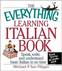Learn to read write and speak italian