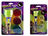 TMNT Small Projector Flash Light and TMNT Large Projector Flash Light (2 pc set)