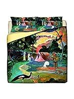 Tele d'autore by MANIFATTURE COTONIERE Juego De Funda Nórdica Gaugin-Matamoe (Multicolor)