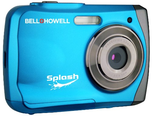 Bell+Howell Splash WP7 12 MP Waterproof Digital Camera Blue