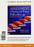 img - for Assessment of Reading and Writing Difficulties: An Interactive Approach, Student Value Edition (5th Edition) book / textbook / text book