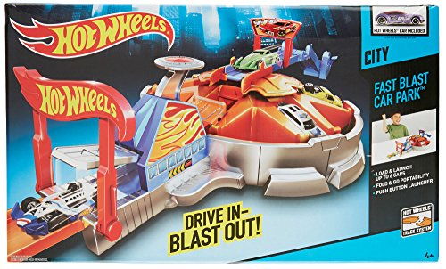 Hot Wheels Launching Garage Playset (Hot Wheels Garage Cars compare prices)
