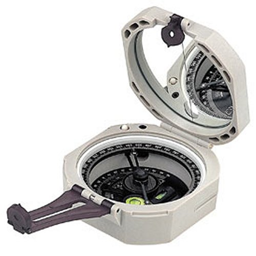 Brunton ComPro M2 Pocket Transit Military Compass with 0-6400 Mils Scale