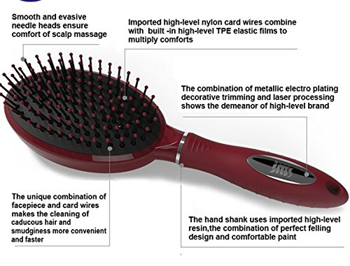 how to clean wooden paddle hair brush