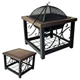 Fire Sense Old World Bronze Finish Cocktail Table Fire Pit (Discontinued by Manufacturer) ~ Fire Sense