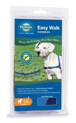 Petsafe Easy Walk Dog Harness, Medium, Royal Blue/Navy