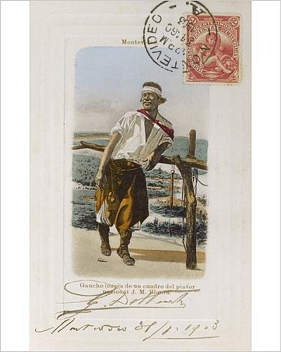 Photographic Print of Uruguay - Palenque Gaucho by J M Blanes ()