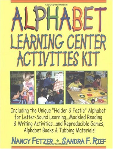 Complete Alphabet Learning Center Activities Kit