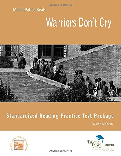 warriors dont cry essay prompts The author's comments: this is my warriors don't cry essay i wrote for my humanities class it is inspired by the book by melba patillo beals, warriors don't cry.