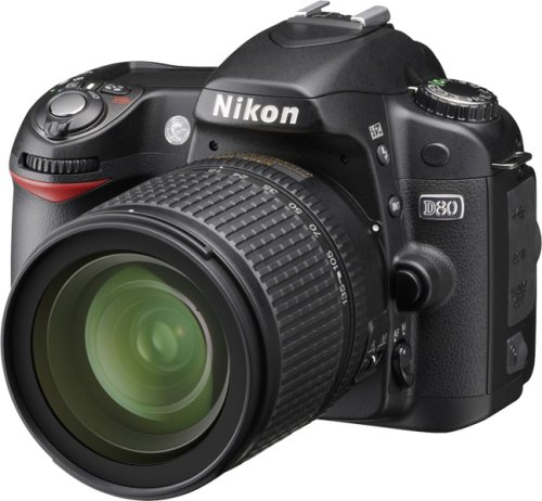 Nikon D80 Digital SLR Camera (18-135mm Lens Kit)