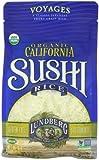 Lundberg Organic California Sushi Short Rice, White, 16 Ounce (Pack of 6)