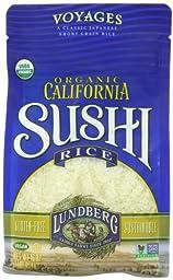 Lundberg Organic Sushi Rice, California White, 16 Ounce (Pack of 6)