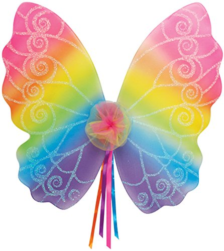 "Star Power Magical & Mysterious Rainbow Fairy Wings One Size (20"")"