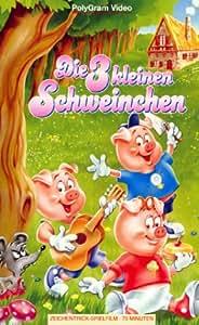 Die 3 kleinen Schweinchen [VHS]