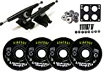 Randal 180 BLK LONGBOARD TRUCKS Package BIGFOOT Wheels BLACK MC
