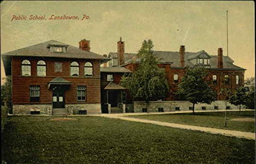 Public School in Lansdowne, Pennsylvania