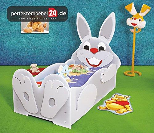 RABBIT Bett Kinderbett Spielbett inkl. Lattenrost und Matratze kurze Lieferzeit!(klein(165 cm x 135 cm x 100 cm)) kaufen