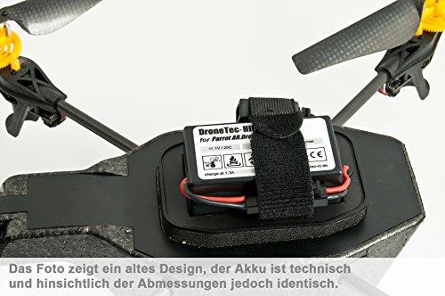 Parrot AR DRONE 2.0 / 1.0 Power Tuning Akku * 2000mAh * 19 Minuten Flugzeit! - 4