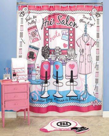 Teen Shower Curtain front-1078518