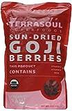 Terrasoul Superfoods Sun-Dried Goji Berries (Organic), 12 Ounce