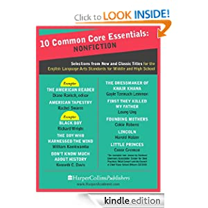 Logo for 10 Common Core Essentials: Nonfiction: Selections from New and Classic Books for the English Language Arts Standards for Middle and High School