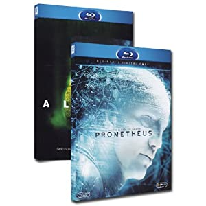 Prometheus + Alien [Blu-ray] [Import italien]