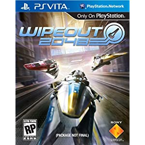 WipEout 2048 PS Vita Video Game