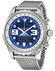 Breitling Chronospace Mariner Analog - Digital Mens Watch A7836534-C823SS